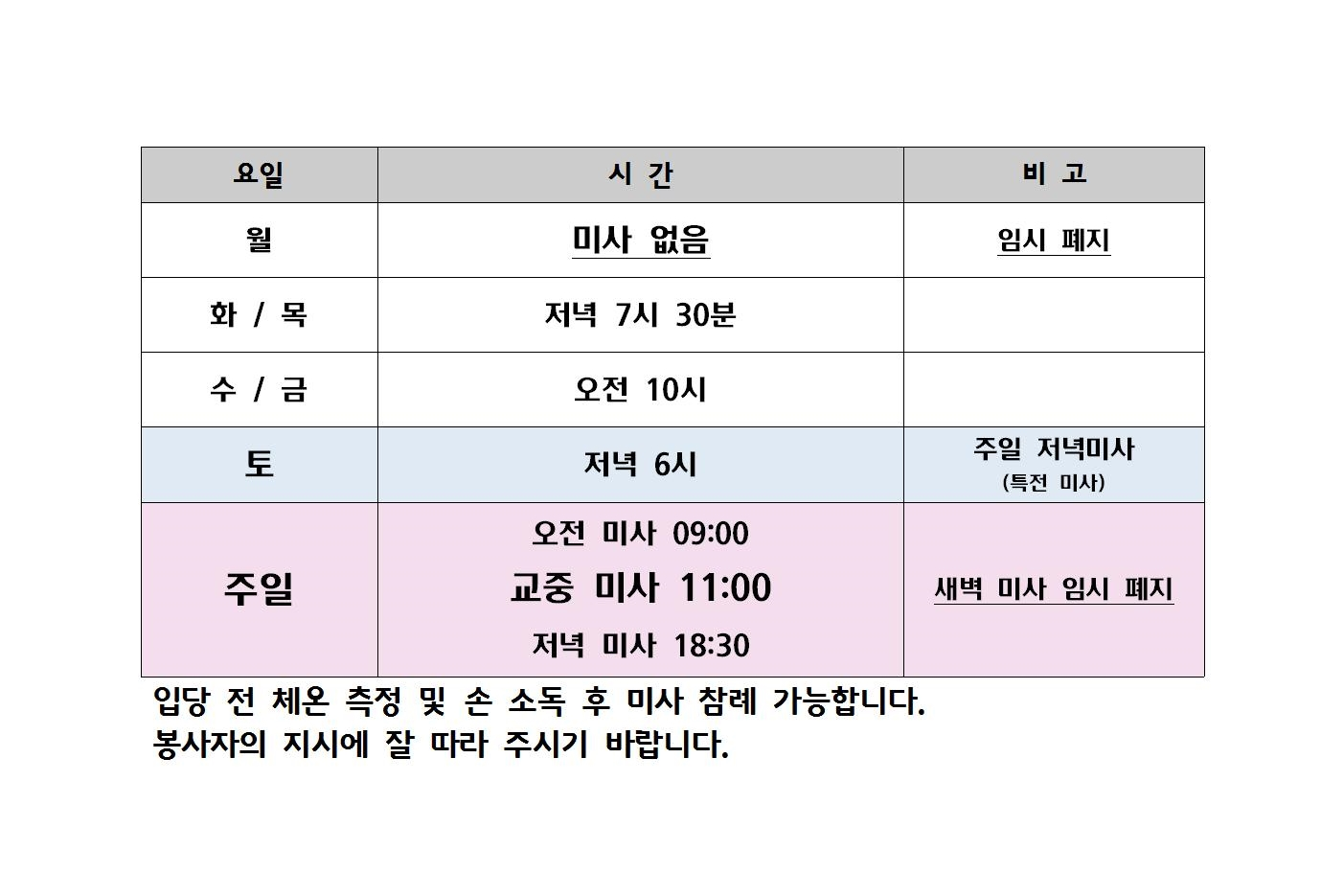 코로나19 미사 재개 후 미사 시간001.jpg